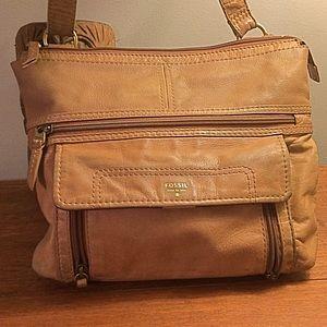 Fossil Leather Crossbody Bag